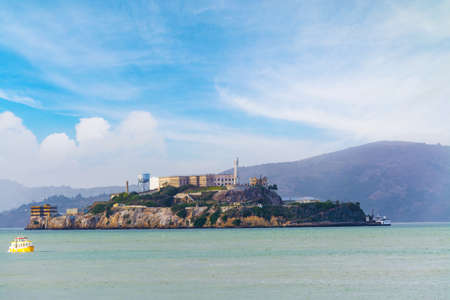 alcatraz: Alcatraz island in San Francisco bay, California
