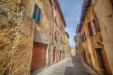 old street in Montepulciano, Italy