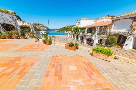 path to wealth: Poltu Quatu on a sunny day, Sardinia