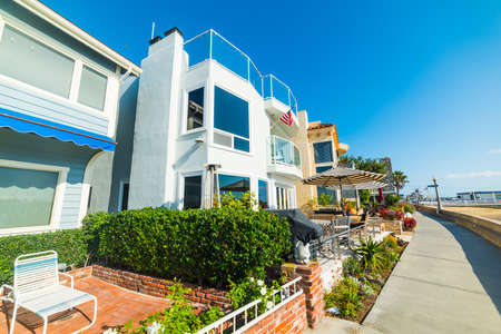 House by the sea in Newport Beach, California