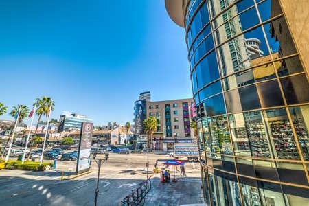 Los Angeles, CA, USA - November 02, 2016: Hollywood on a sunny day