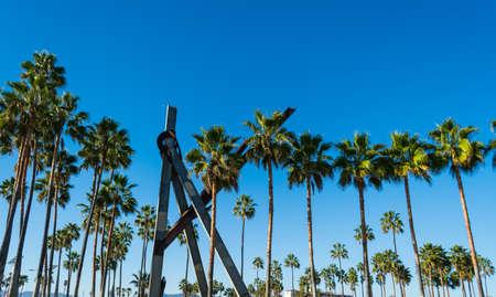 Palm trees in Venice beach, California Stock Photo - 75183642