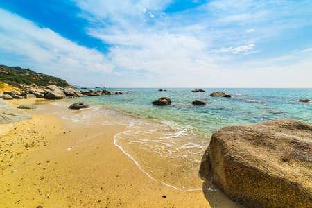 sa: rocks in Porto sa ruxi shore, Sardinia