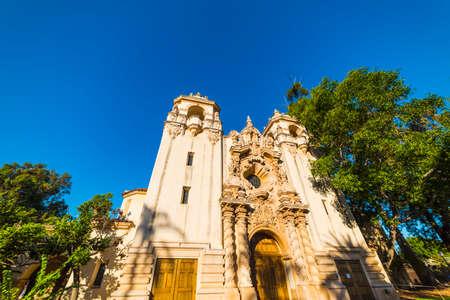 Casa del Prado in Balboa park, San Diego. California, USA