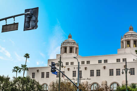 Central Post Office in downtown Los Angeles, California