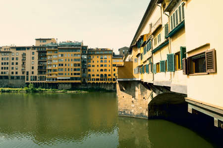 World famous Ponte Vecchio in Florence, Italy