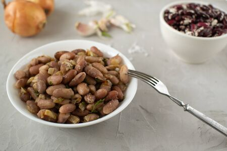 Lobio is a Georgian dish of white and red beans. Beans are a healthy, tasty and satisfying product