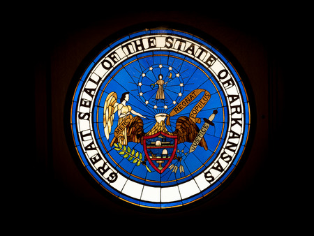 little rock ak united states may 30 2018 great seal of stock