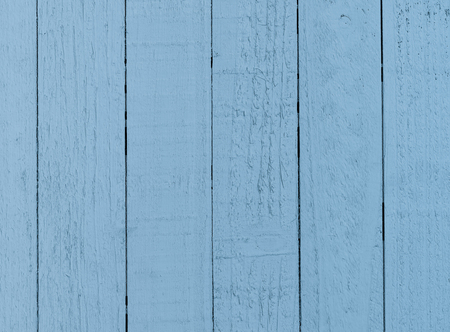 Rustic textured blue planks in a row