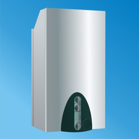 heater: heating boiler vector3