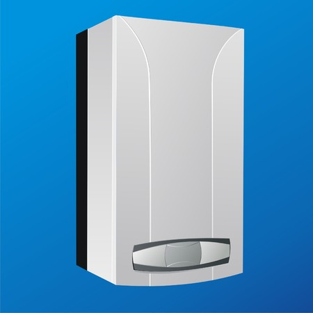 heater: heating boiler vector2
