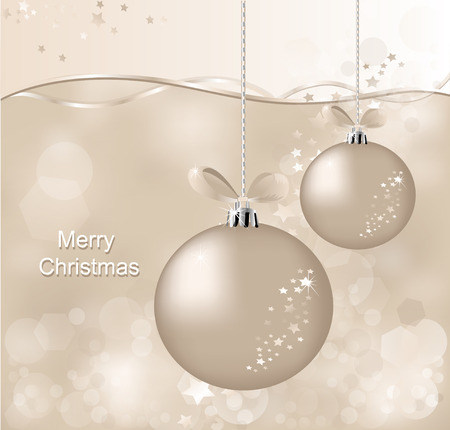 asterisks: christmas  background with  ball and asterisks