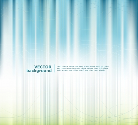 medical light: Vector blue-green background abstracts Illustration