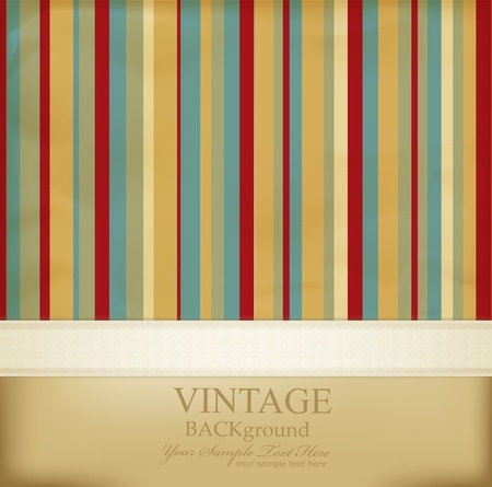 grubby: vintage striped abstract background