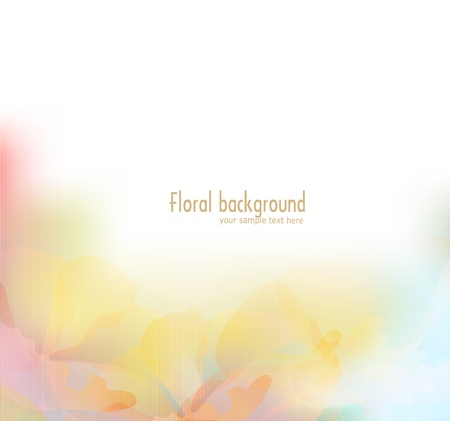 background: vector florale achtergrond