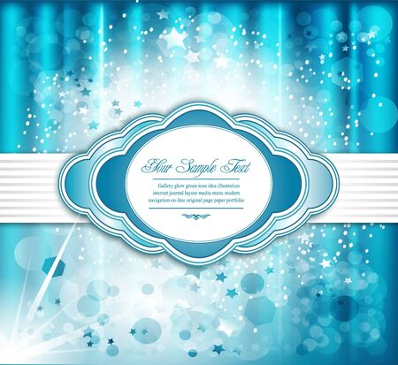 holiday greeting background Vector