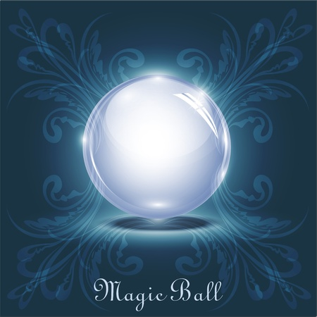 magic ball Stock Vector - 10548082
