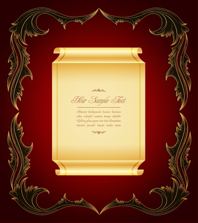 luxurious background: vintage, elegant, luxurious background