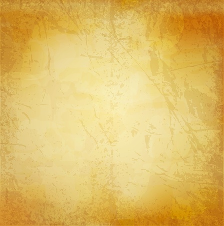 paper curl: vector vintage grunge background (old paper)
