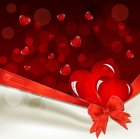 festive background for Valentine Stock Vector - 11471799