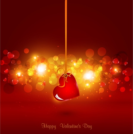 festive background for Valentine Stock Vector - 11471800