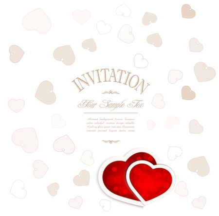 background for Valentine Vector