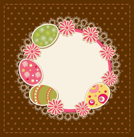 Easter holiday  background Stock Vector - 11906900