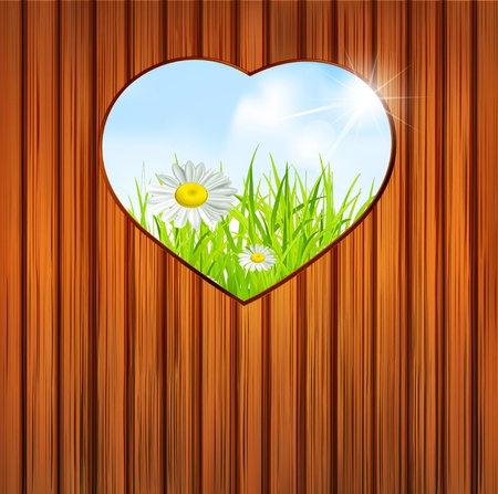 holiday background on Valentine Vector