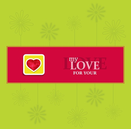 festive background for Valentines Day  Vector