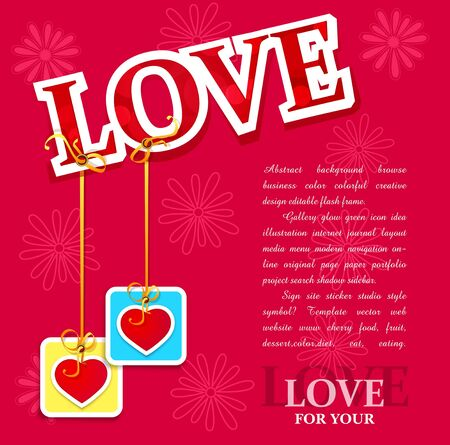 background for Valentine's Day Stock Vector - 11906917