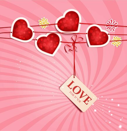 background for Valentine's Day Stock Vector - 11906920