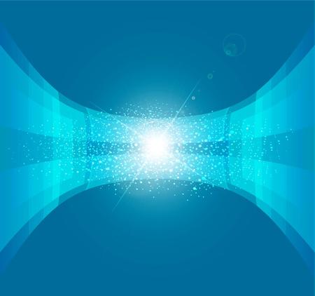 speed line: vettore astratto sfondo blu Vettoriali