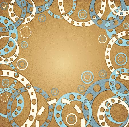 abstract vintage background vector Stock Vector - 12205096