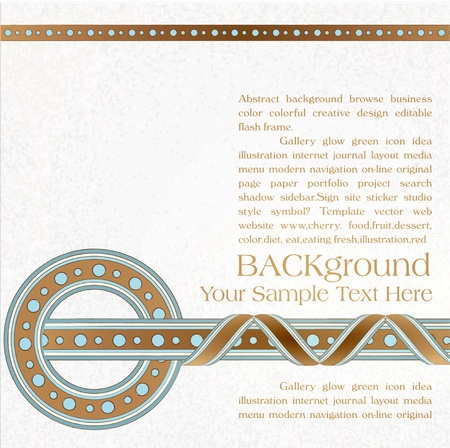 vector vintage, ornate background Stock Vector - 12205100