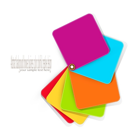 color vector elements for design on a white background Stock Vector - 12488289