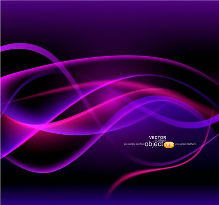 vector abstract, futuristic background Stock Vector - 12488372