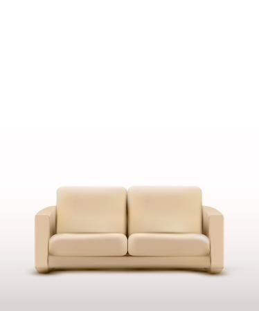 vector sofa (furniture item) Stock Vector - 13109659