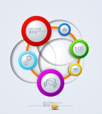 online form: vector elements for web design Illustration