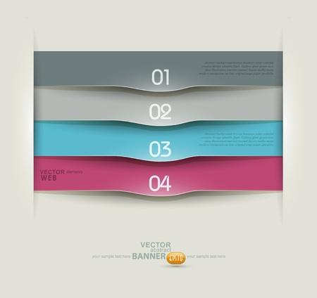 Vector design elements for business Illustration