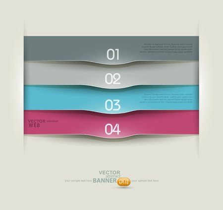 Vector design elements for business Ilustracja