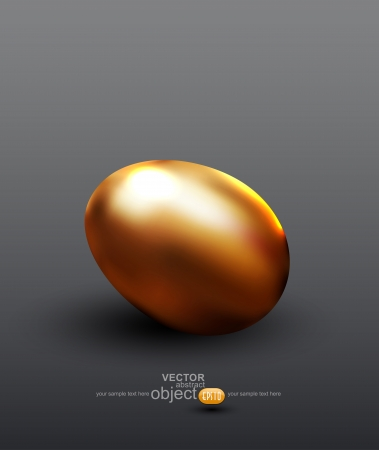 vector golden egg Stock Vector - 18083168