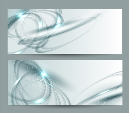 vector abstract background set Stock Vector - 18083209