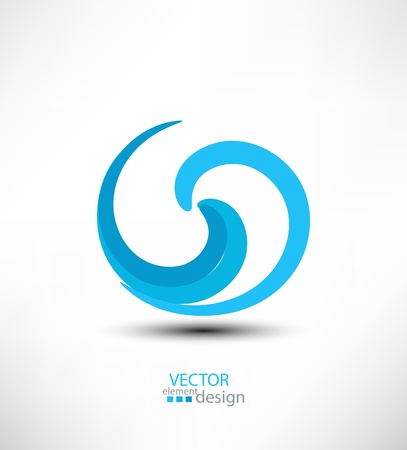 Abstract vector design element for business Vector
