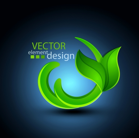 vector abstract element for design  environment Stock Vector - 20276596