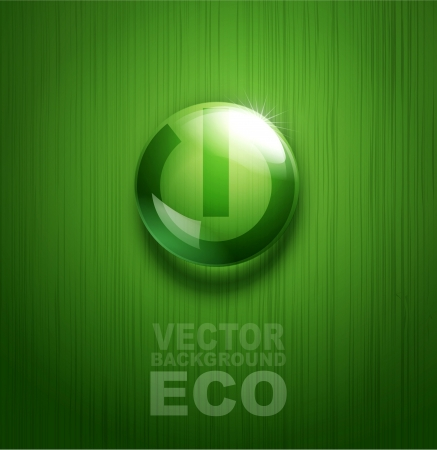 element for environmental design in the form of a button Stock Vector - 20747364