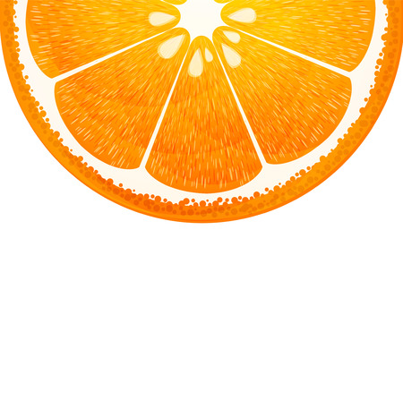 orange background vector Vector