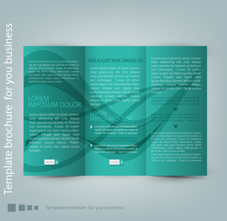 publisher: vector flyer template for business