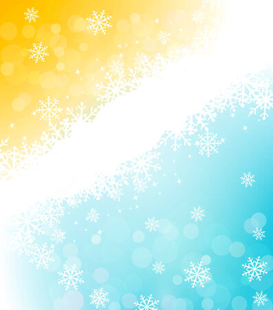 spangle: Christmas holiday background with snowflakes Illustration