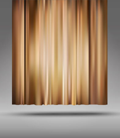 theatre curtain: vector background with theatre  curtain Illustration