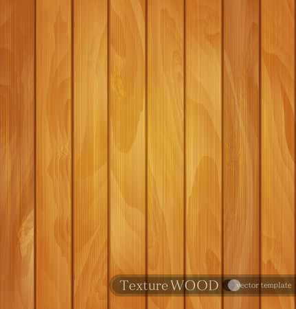 piece of furniture: vector wood background- texture of light brown wooden planks